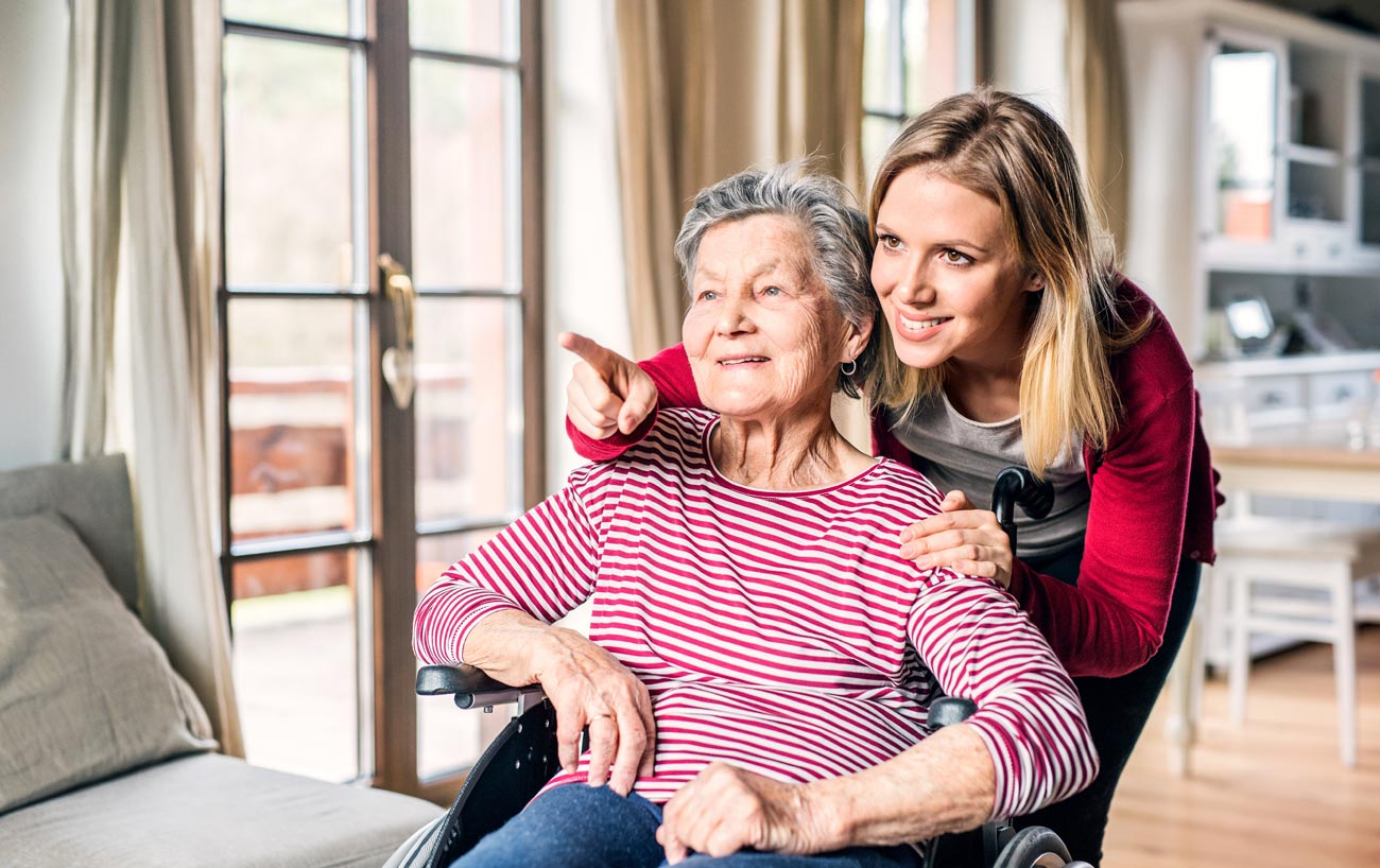 Why invest in benefits for employees in 'caregiving' functions?